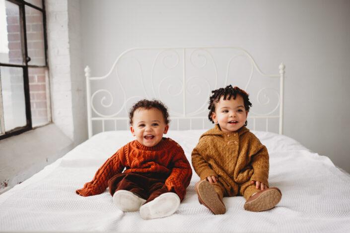 studio baby milestone photos seattle