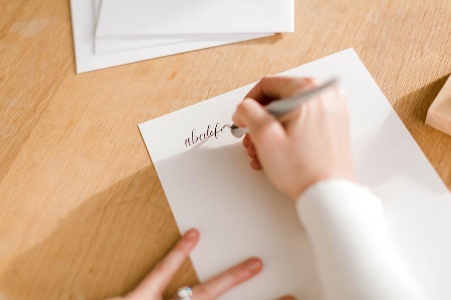 seattle calligrapher