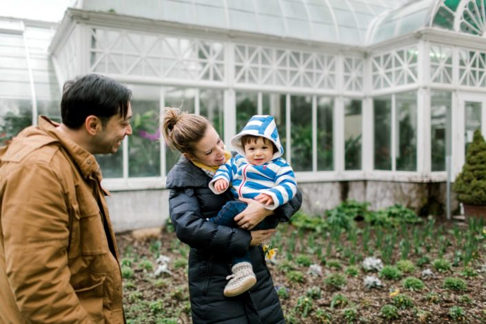 volunteer park family session photography