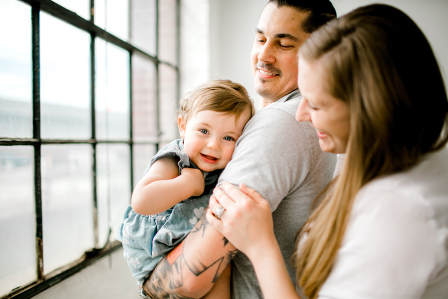 1 Year Baby Session / Seattle Photo Studio