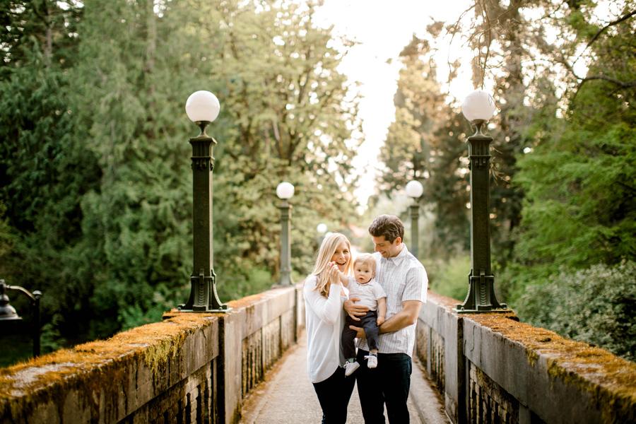 Sunset Family Session / Seattle Arboretum