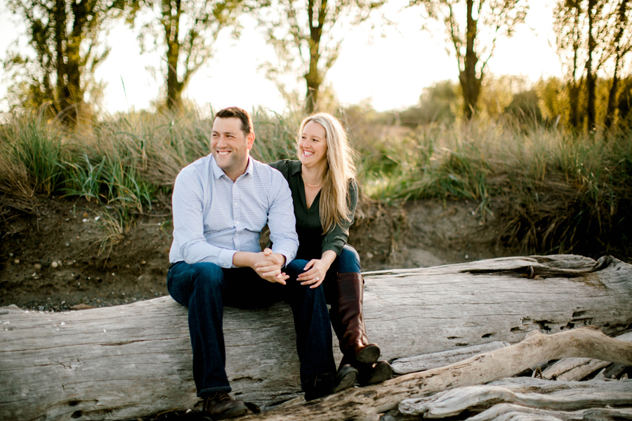 Sallie + Tony | Discovery Park Engagement