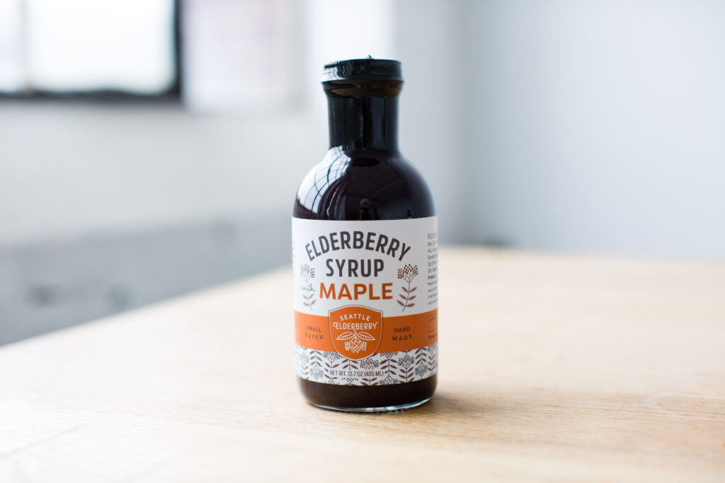seattle elderberry product photography