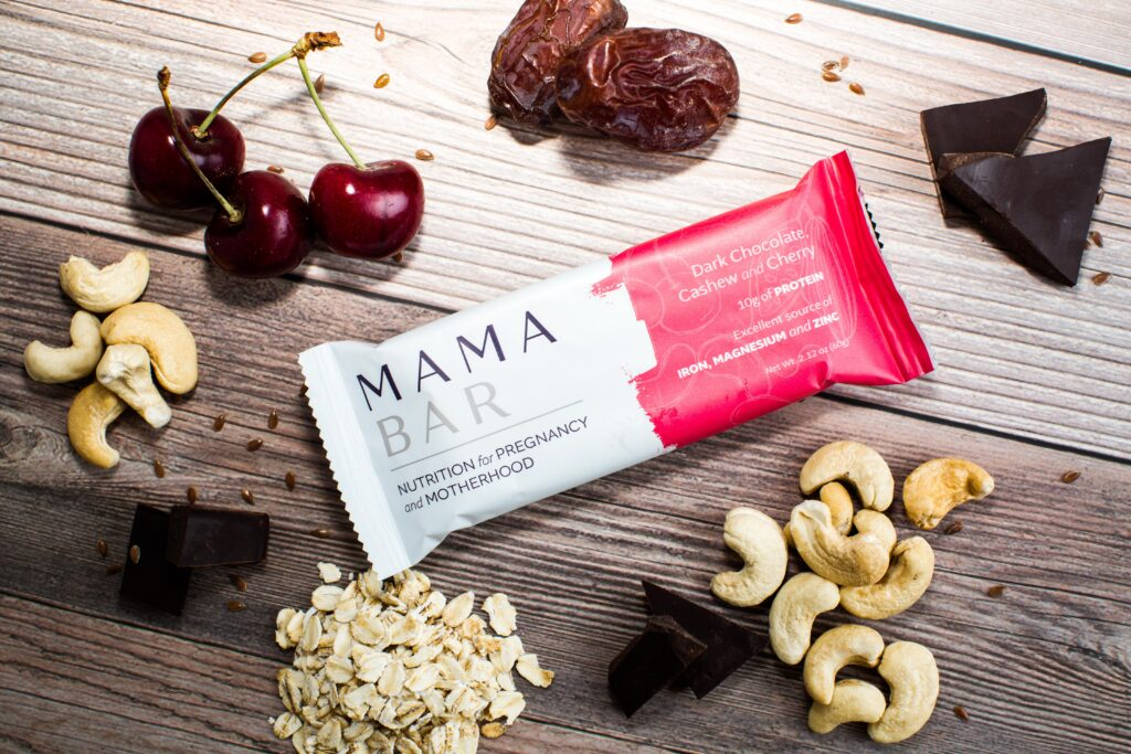 mamabar product photography