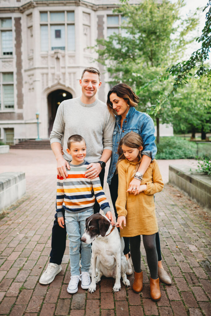 uw family photo session seattle