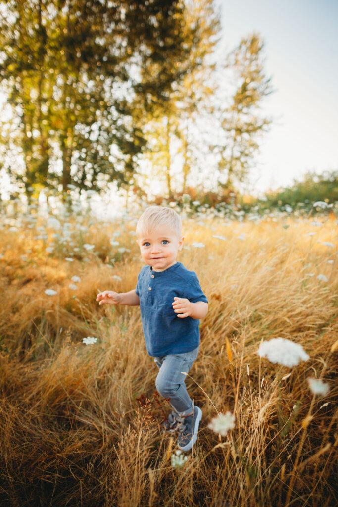 seattle family photographer 1 year milestone